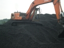Coal and Excavator